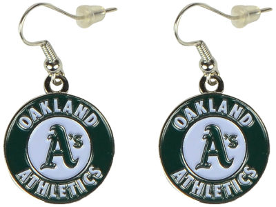 Oakland Athletics Logo Earrings