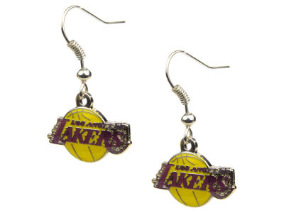 Los Angeles Lakers Logo Earrings
