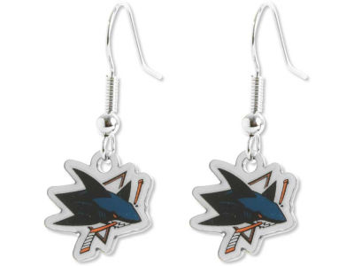 San Jose Sharks Logo Earrings