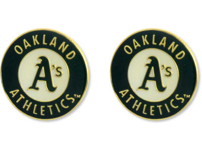 Oakland Athletics Logo Post Earrings