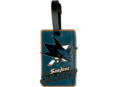 San Jose Sharks Soft Bag Tag