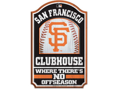 San Francisco Giants 11x17 Wood Sign