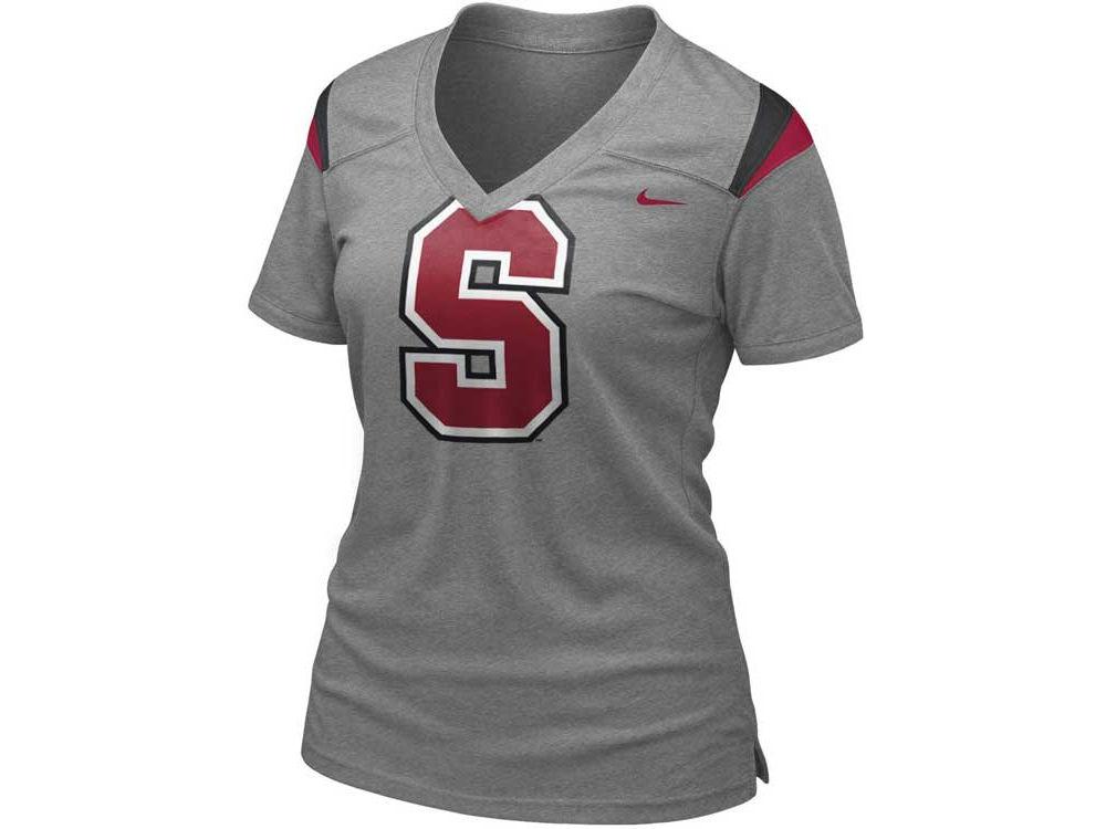 d4527ab6 Stanford Cardinal Nike NCAA Womens Football Replica T-Shirt