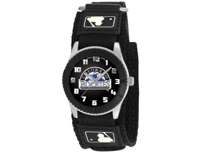 Colorado Rockies Rookie Kids Watch Black