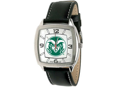 Colorado State Rams Retro Leather Watch
