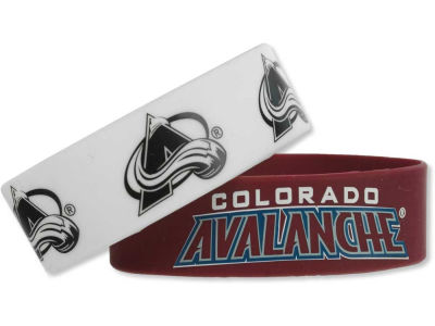 Colorado Avalanche 2-pack Wide Bracelet