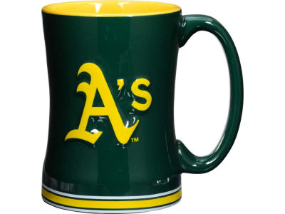 Oakland Athletics 14 oz Relief Mug