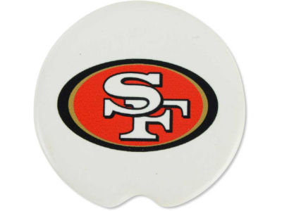 San Francisco 49ers 2 Pack Car Coasters