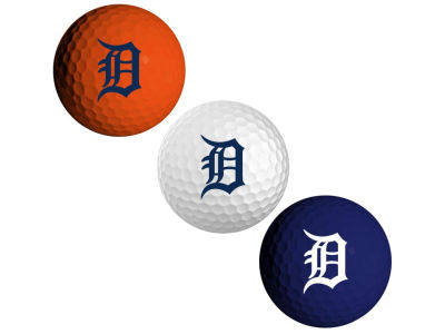 Detroit Tigers 3-pack Golf Ball Set