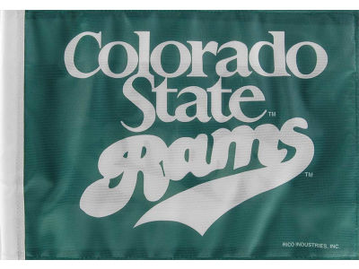 Colorado State Rams Car Flag
