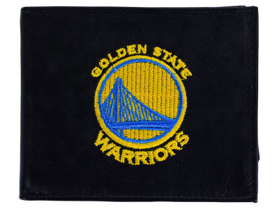 Golden State Warriors Black Bifold Wallet