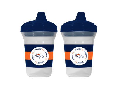 Denver Broncos 2-pack Sippy Cup Set