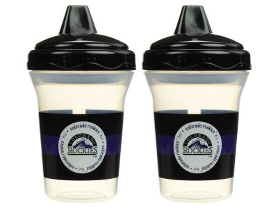 Colorado Rockies 2-pack Sippy Cup Set