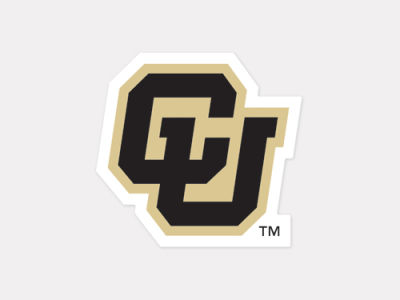 Colorado Buffaloes 4x4 Die Cut Decal Color