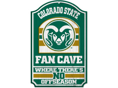 Colorado State Rams 11x17 Wood Sign