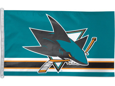 San Jose Sharks 3x5ft Flag