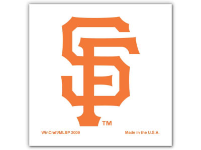 San Francisco Giants Tattoo 4-pack