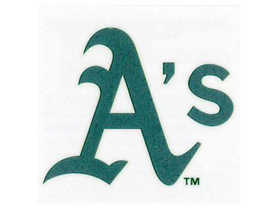 Oakland Athletics Tattoo 4-pack
