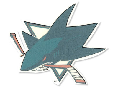San Jose Sharks Tattoo 4-pack
