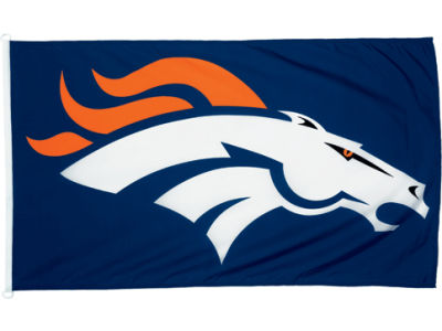 Denver Broncos 3x5ft Flag