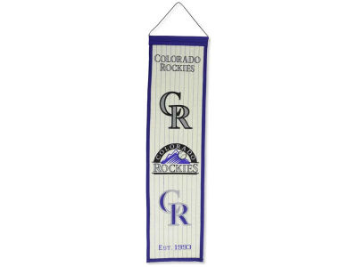 Colorado Rockies Winning Streak Heritage Banner