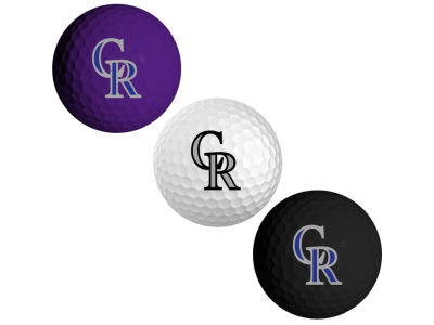 Colorado Rockies 3-pack Golf Ball Set
