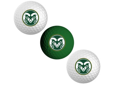 Colorado State Rams 3-pack Golf Ball Set