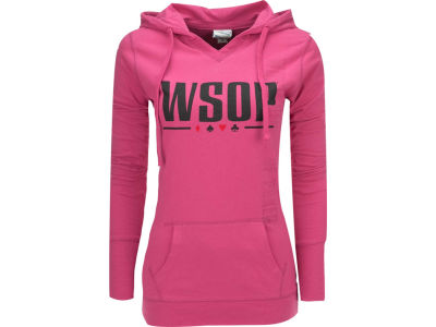 World Series Of Poker WSOP Caroline V-Notch Pullover Hoodie