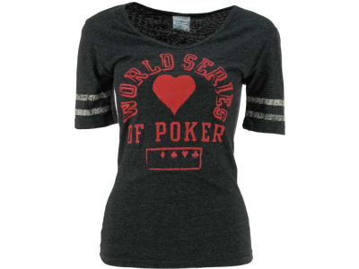 World Series Of Poker WSOP Riley Sleeve Stripe Tri-Blend T-Shirt