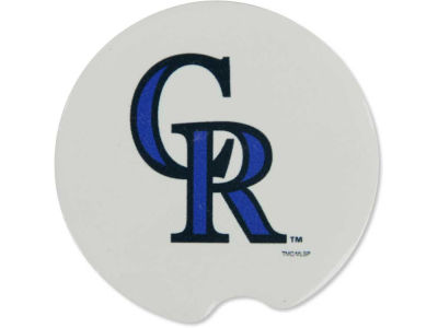 Colorado Rockies 2 Pack Car Coasters