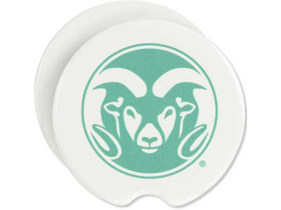 Colorado State Rams 2 Pack Car Coasters