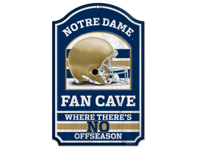 Notre Dame Fighting Irish 11x17 Wood Sign
