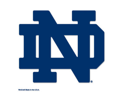 Notre Dame Fighting Irish Die Cut Color Decal 8in X 8in