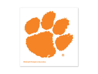 Clemson Tigers Tattoo 4-pack