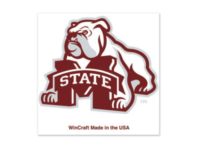 Mississippi State Bulldogs Tattoo 4-pack