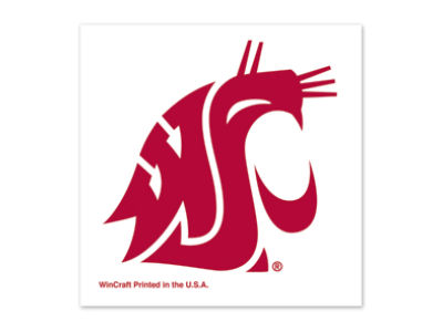 Washington State Cougars Tattoo 4-pack