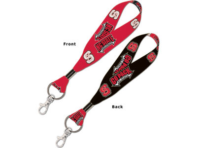 North Carolina State Wolfpack Lanyard Key Strap