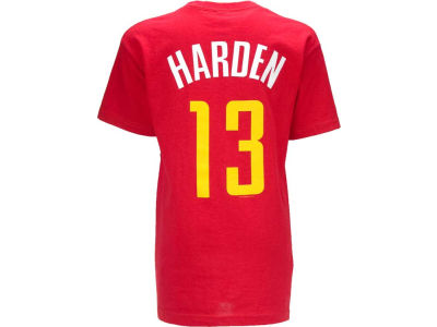Houston Rockets James Harden NBA Youth Name And Number T-Shirt