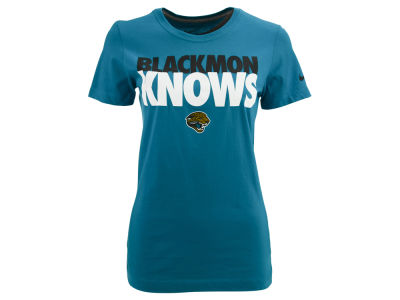 Jacksonville Jaguars Justin Blackmon Nike NFL Player Knows T-Shirt