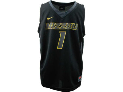 Missouri Tigers #1 NCAA Kids Replica Basketball Jersey