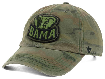 Alabama Crimson Tide '47 NCAA Operation Hat Trick Movement '47 CLEAN UP Cap