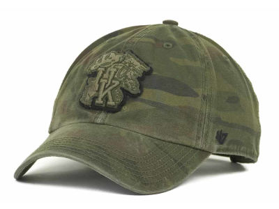 Kentucky Wildcats '47 NCAA Operation Hat Trick Movement '47 CLEAN UP Cap