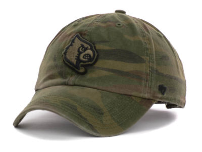 Louisville Cardinals '47 NCAA Operation Hat Trick Movement '47 CLEAN UP Cap