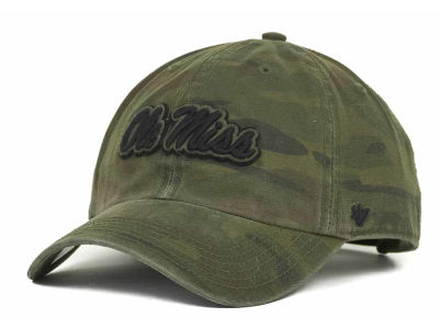 Ole Miss Rebels '47 NCAA Operation Hat Trick Movement '47 CLEAN UP Cap