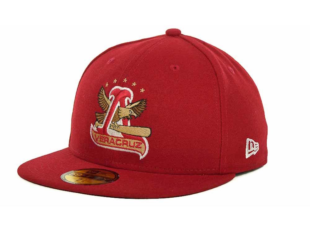 Rojos del Aguila de Veracruz New Era Mexican Pro 59FIFTY Cap  c8ac8247028c