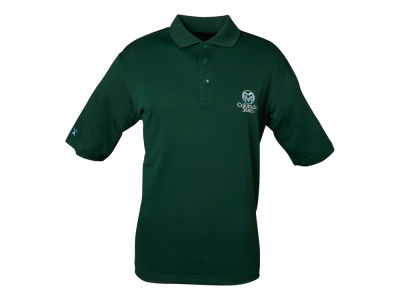 Colorado State Rams NCAA Pique Xtra-Lite Polo