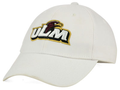 LA Monroe Warhawks Top of the World NCAA White PC Cap