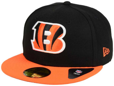 Cincinnati Bengals New Era NFL Black Team 59FIFTY Cap