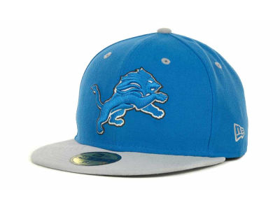 Detroit Lions New Era NFL 2 Tone 59FIFTY Cap