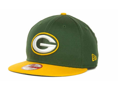 Green Bay Packers New Era NFL Baycik 9FIFTY Snapback Cap